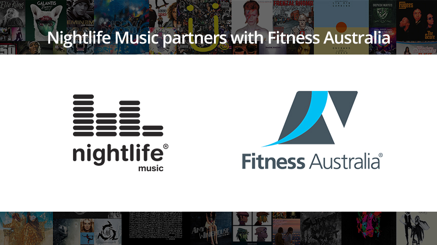 Nightlife Music partners with Fitness Australia