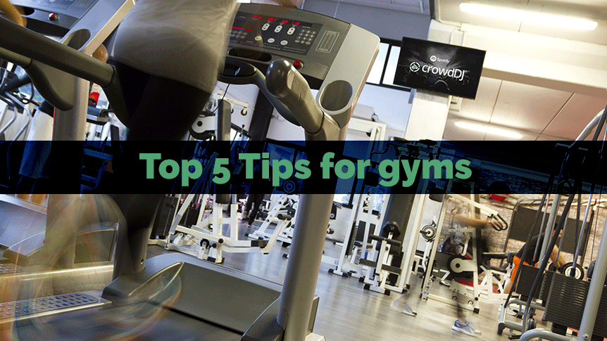 Top 5 Tips for Gyms