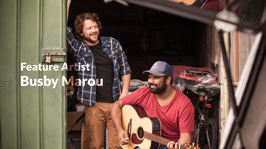 Australian feature artist - Busby Marou