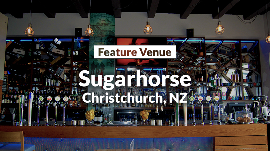 Feature Venue - Sugarhorse Bar & Eatery, Christchurch, New Zealand