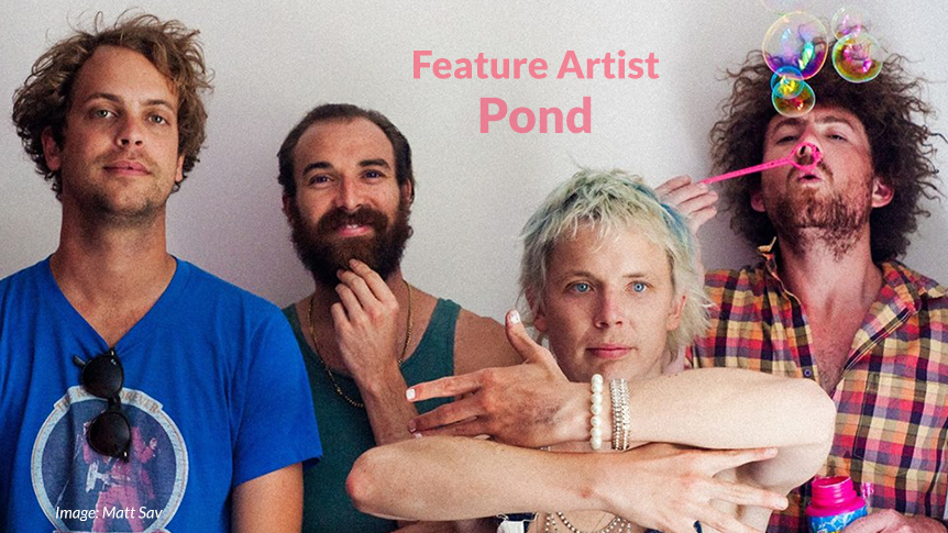 Australian feature artist - Pond