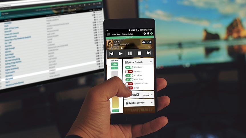 Manage My Nightlife app mode controls
