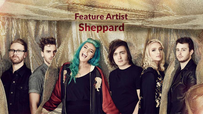 Sheppard - Australian feature artist