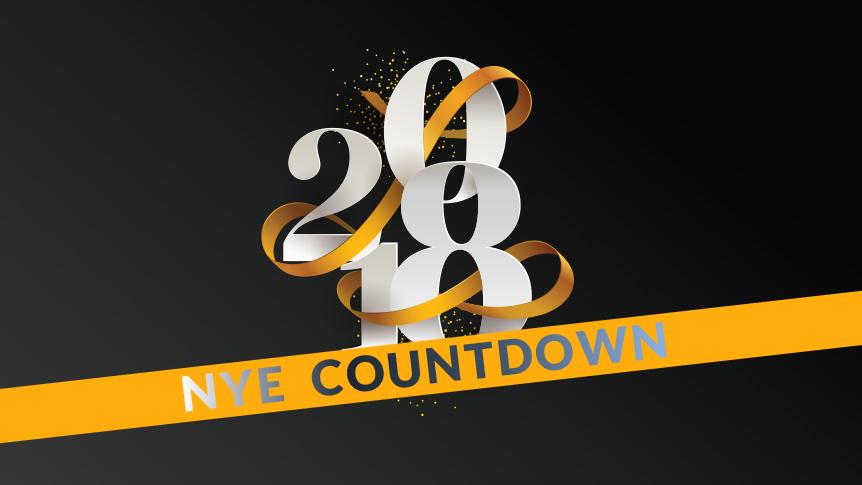 NYE 2018 countdown