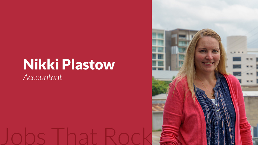 Jobs that rock - Accountant Nikki Plastow