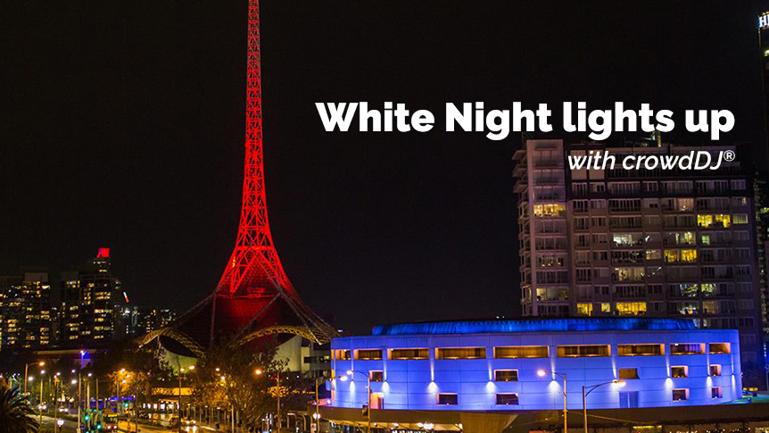 White Night lights up with crowdDJ