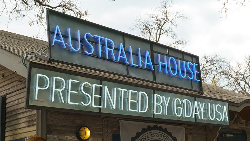 Australia House at SXSW