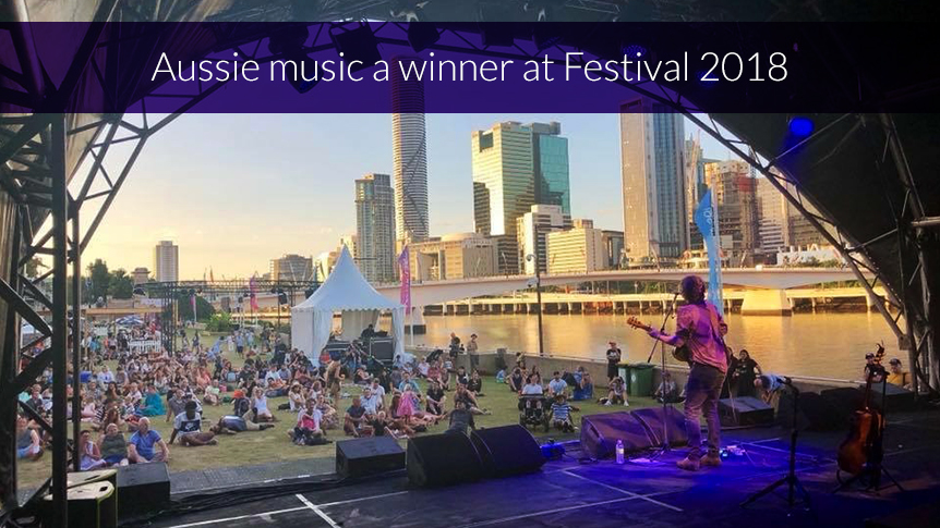 Aussie music a winner at Festival 2018