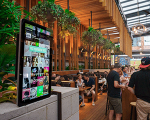 Nightlife's crowdDJ Kiosk