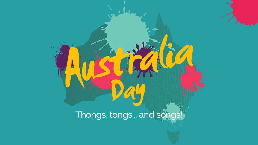 Thongs, tongs... and songs for Australia Day