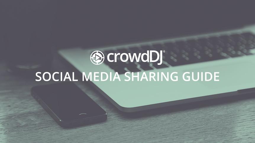 Social media sharing guide