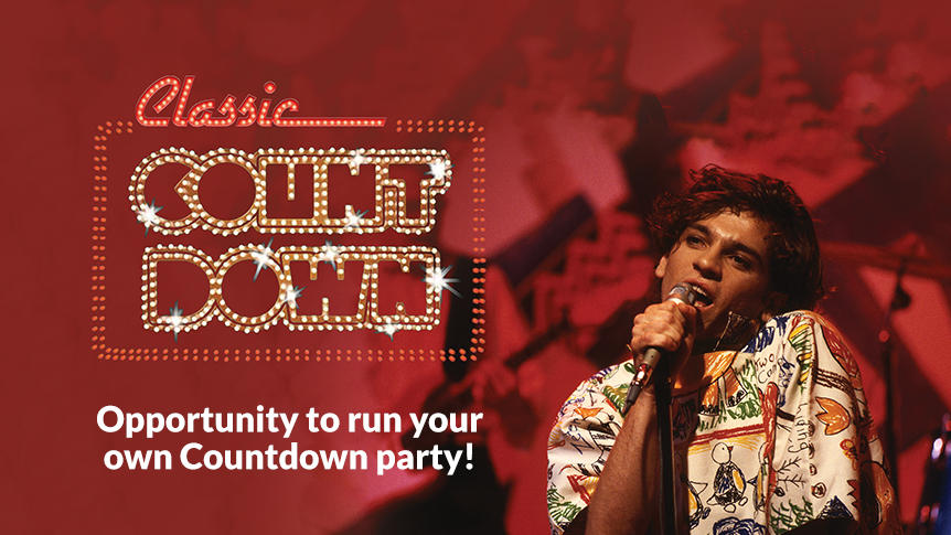 Opportunity to run a Countdown party