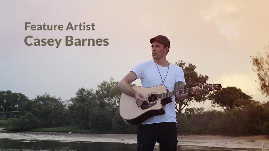 Aussie feature artst Casey Barnes