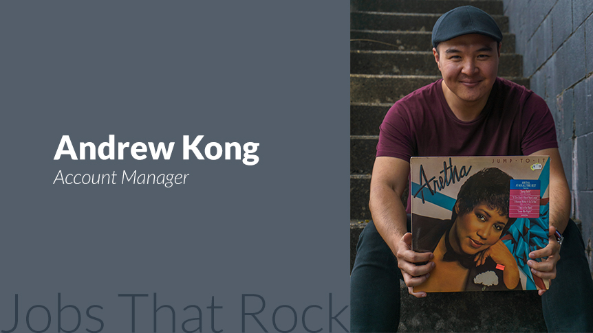 Andrew Kong - Nightlife Account Manager