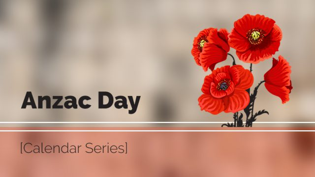 Anzac Day content package