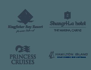 List of Nightlife Clients: Kingfisher Bay Resort, Shangri-La Hotel, Princess Cruises, Hamilton Island