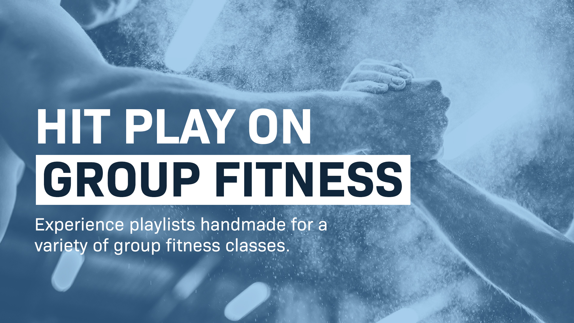 Group training music playlists revealed