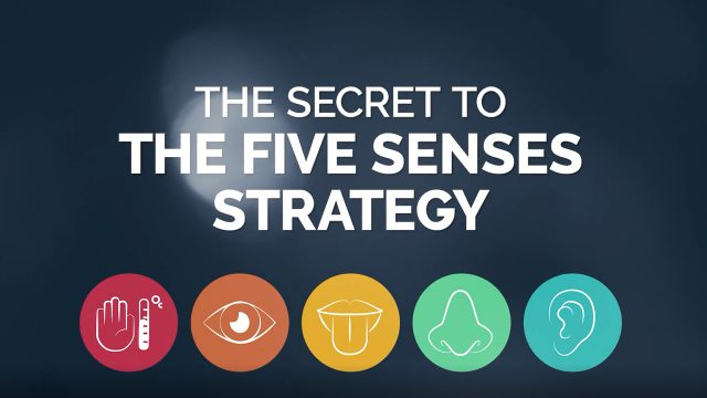 The secret to the 5 Senses Strategy