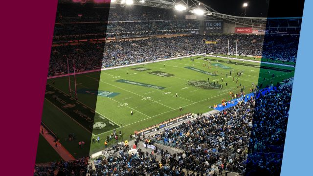 Get all the footy with Nightlife's NRL and State Of Origin ambient visuals!