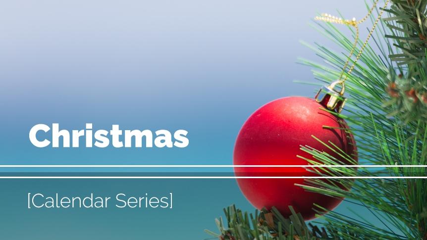 Christmas music and visuals